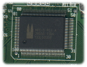 HFC-S PCI chip
